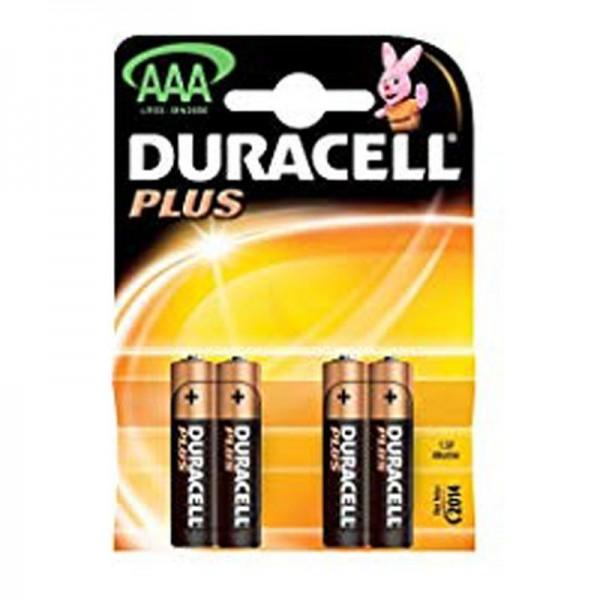 Duracell Batterien Plus Power DPAAA AAA 4er Blister