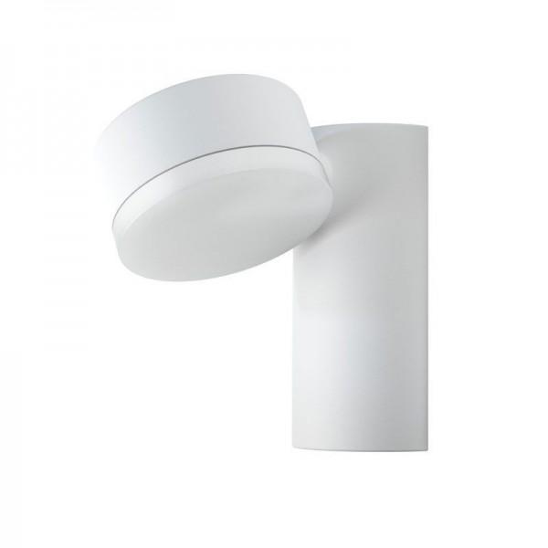 Osram LED Wandleuchte Endura Style Spot Round 8W/830 460lm warmweiß nicht dimmbar weiß IP44