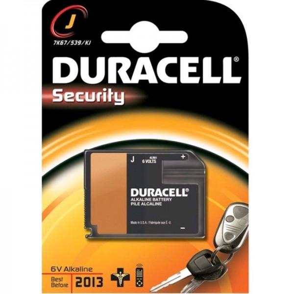 Duracell Batterie Security J 1er Blister