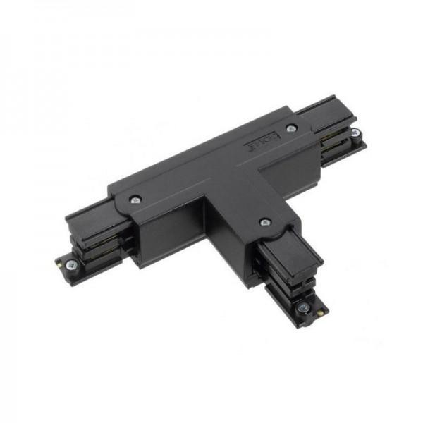 T-Verbinder mit Einspeisemöglichkeit XTS 40 schwarz Null innen und links