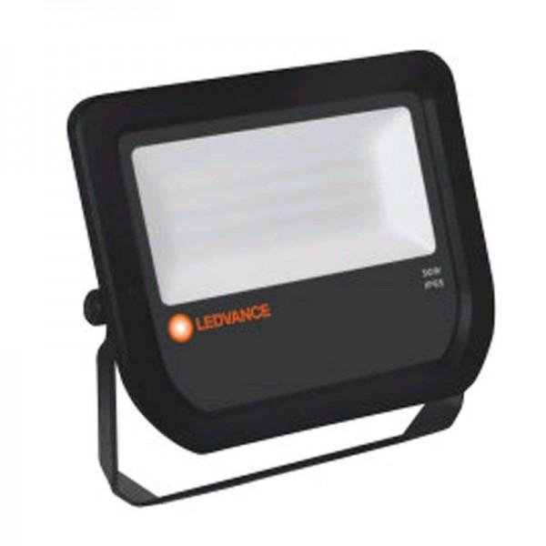 Ledvance Floodlight LED 50W/3000K Black IP65 5250lm warmweiß nicht dimmbar