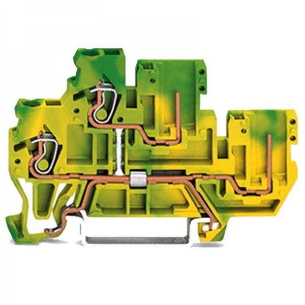 Wago 2-Leiter/2-Pin-Doppelstock-Basisklemme 870-107 (1 Stück)