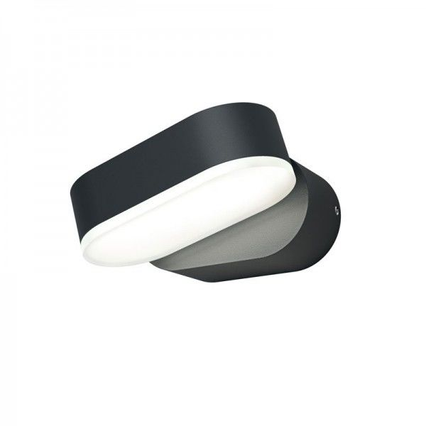 Osram LED Wandleuchte Endura Style Mini Spot I 7,5W/830 320lm warmweiß nicht dimmbar dunkelgrau IP44