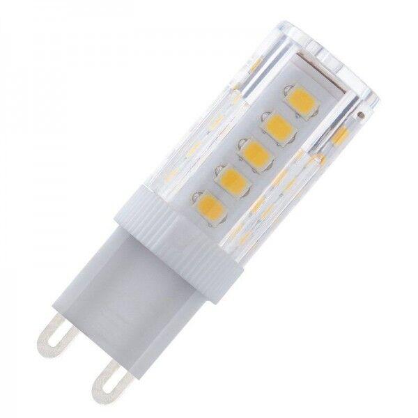 Modee LED Ceramic 3.5-25W/860 G9 320lm tageslichtweiß nicht dimmbar Stiftsockellampe 360° weiß 25000h ersetzt 25W (ersetzt Osram/Philips G9 Halogen)