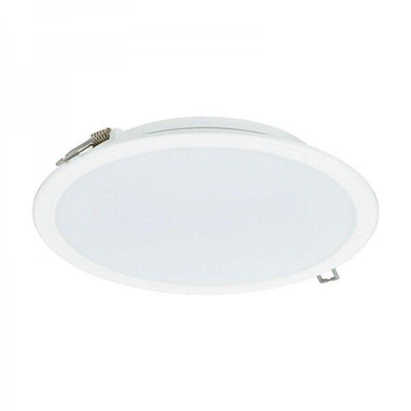 Philips LED Ledinaire Einbauleuchte DN065B 23W/840 PSU 2000lm matt neutralweiß nicht dimmbar weiß IP20