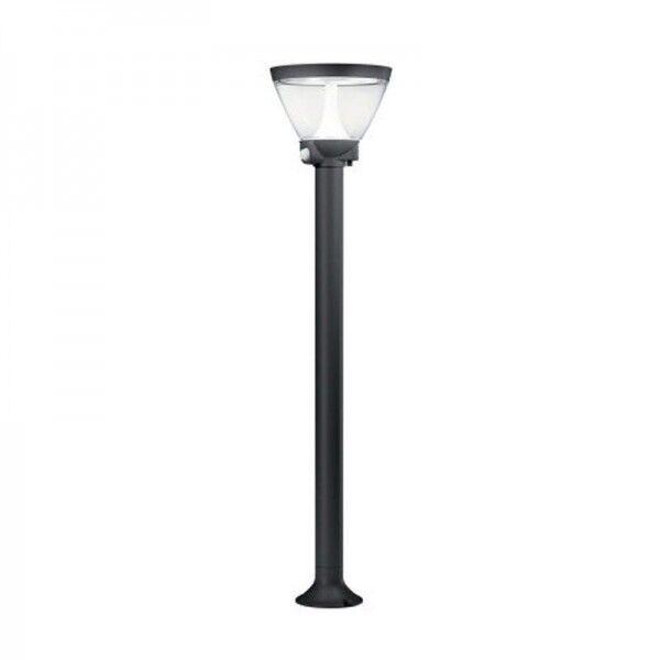 Osram LED Bodenleuchte Endura Style Lantern Solar/AC 90cm 7,5W/830 300lm warmweiß nicht dimmbar dunkelgrau IP44
