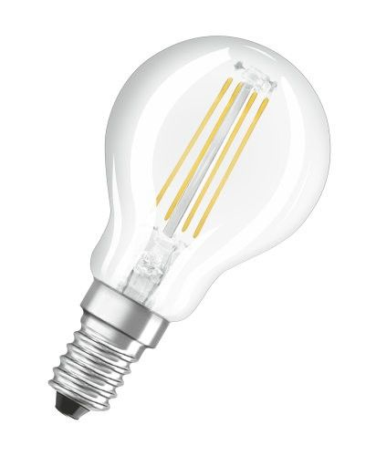 LEDVANCE LED Parathom Retrofit Filament Classic P 4-40W/827 E14 470lm klar warmweiß 300° nicht dimmbar
