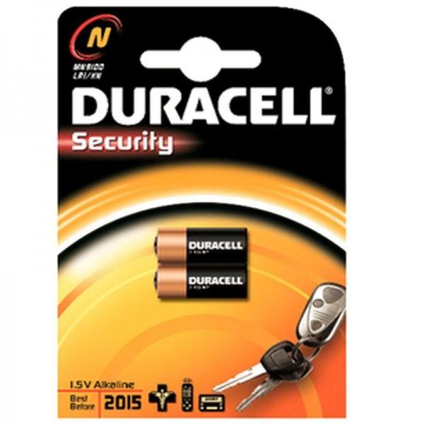 Duracell Batterie Security N B2 2er Blister