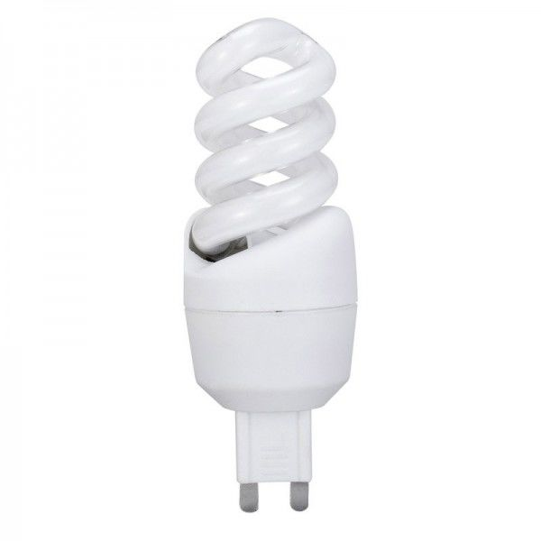Paulmann Energiesparlampe Spirale 9W G9 Warmweiß
