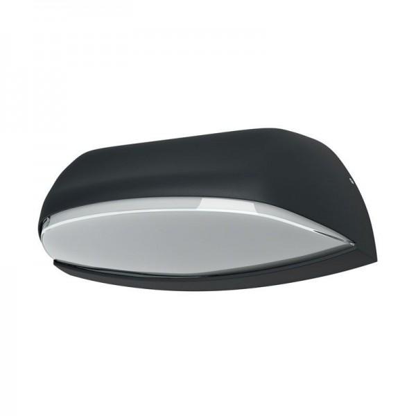 Osram LED Wandleuchte Endura Style Wide 12W/830 530lm warmweiß nicht dimmbar dunkelgrau IP44