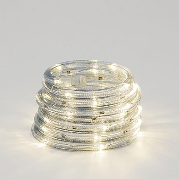 SONDERPOSTEN - Konstsmide LED Lichterschlauch aus transparentem Kunststoff 108 Dioden Gesamtlänge 10