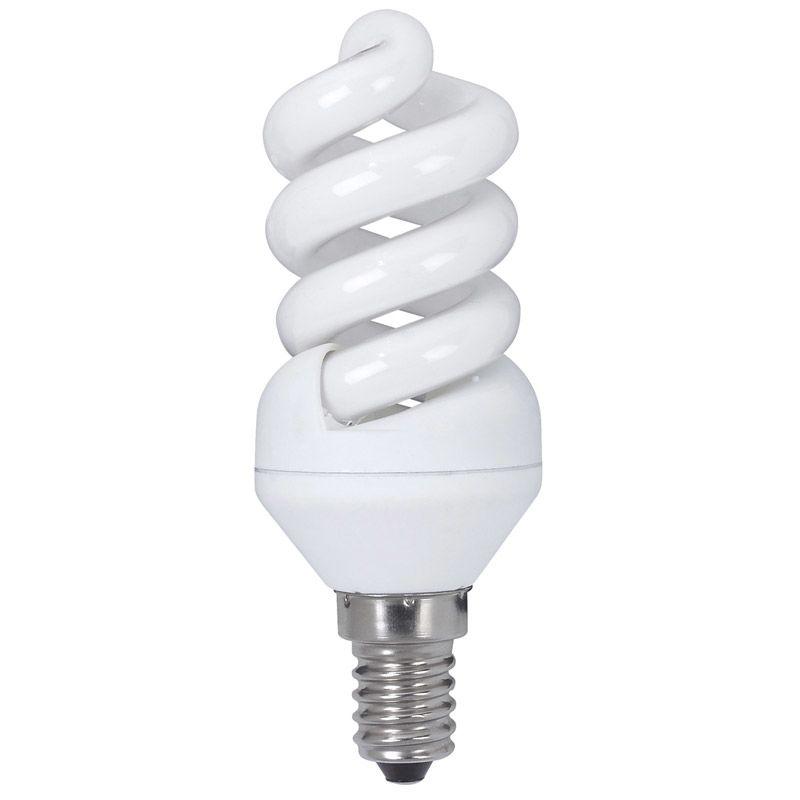 Energiesparlampe Spirale