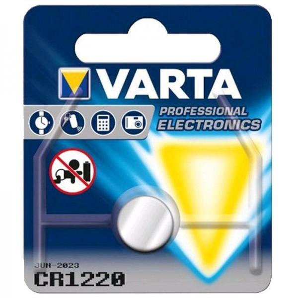 Varta Batterie Lithium 6220 3V CR 1220 1er Blister