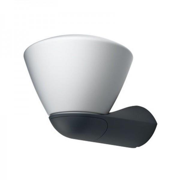 Osram LED Wandleuchte Endura Style Lantern Bowl 7W/830 400lm warmweiß nicht dimmbar dunkelgrau IP44