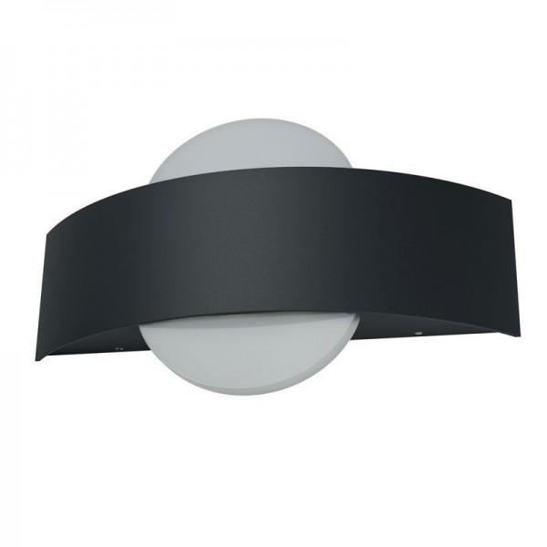 Osram LED Wandleuchte Endura Style Shield Round 10,5W/830 400lm warmweiß nicht dimmbar dunkelgrau IP44