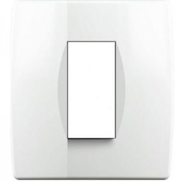 SONDERPOSTEN - TEM RAHMEN SOFT 1/2M OS10PW Weiß-Glanz