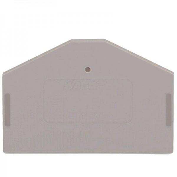 Wago Abschluss- und Zwischenplatte 280-312 280-312 (1 Stück)
