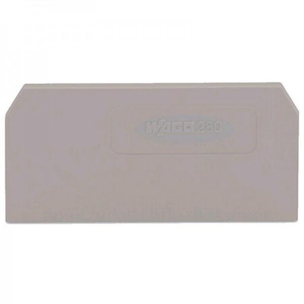 Wago Abschluss- und Zwischenplatte 280-308 (1 Stück)