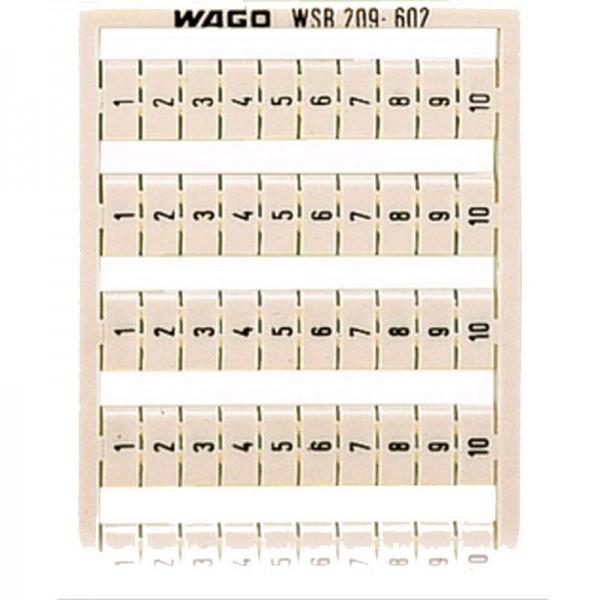 Wago WSB-Schnellbeschriftungssystem 209-602 (1 Stück)
