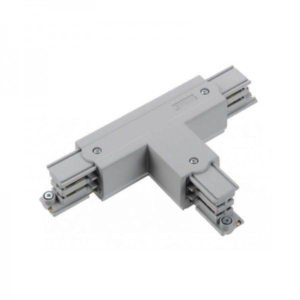 T-Verbinder mit Einspeisemöglichkeit XTS 36 grau Null außen und links