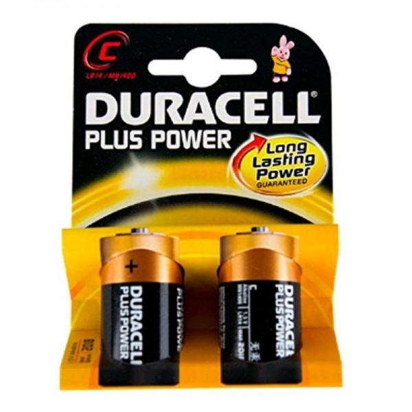 Duracell Batterien Plus Power DPC C 2er Blister
