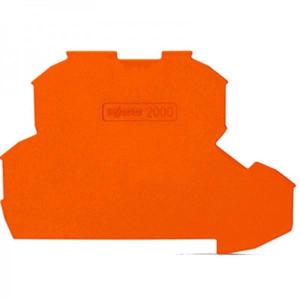 Wago Abschluss- und Zwischenplatte 2000-2292 (1 Stück)