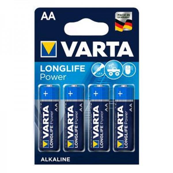 Varta Batterien Longlife Power 4906 AA 4er Blister