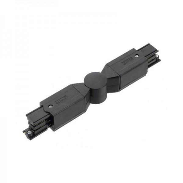 Verbindungsstück mit Einspeisemöglichkeit XTS 24 schwarz flexibel 130G (Gelenkverbinder)