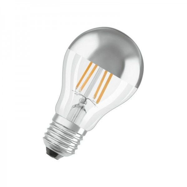 Osram LED Parathom Classic A Filament Mirror Silver 7-51W/827 E27 650lm 300° nicht dimmbar