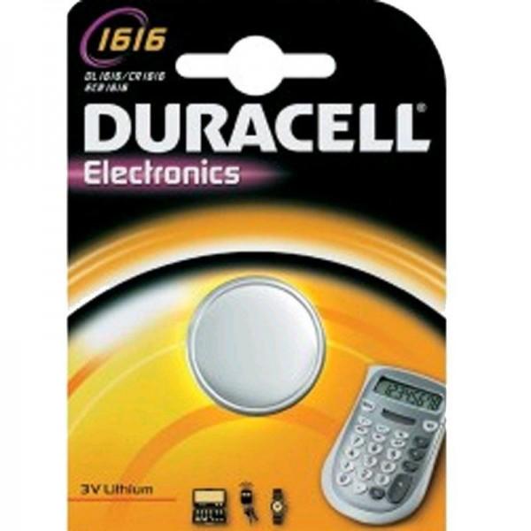 Duracell Knopfzelle Electronics 1616 B1 1er Blister
