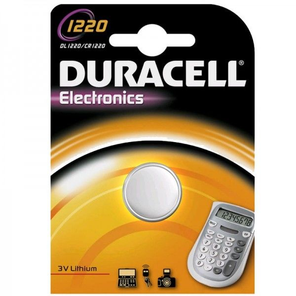Duracell Knopfzelle Electronics 1220 B1 1er Blister