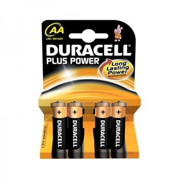 Duracell Batterien Plus Power DPAA AA 4er Blister