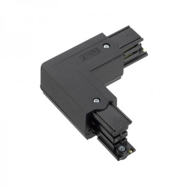 Winkelverbinder mit Einspeisemöglichkeit XTS 35 schwarz rechts