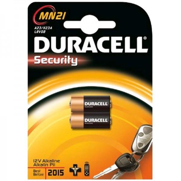 Duracell Batterie Security MN21 B2 2er Blister
