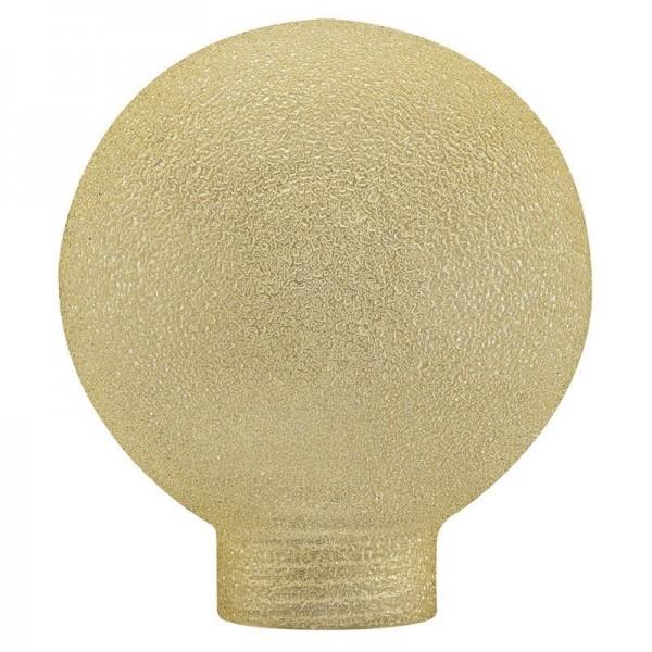 Paulmann Dekoglas Globe 60 Eiskristall Bernstein für Halogen Basic Sockel Mini