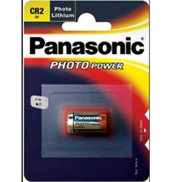Panasonic Photobatterie CR2 850 mAh 3V 1er Blister