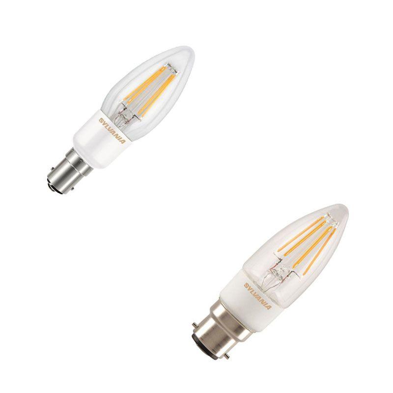 B15 / B22 Kerzenlampen