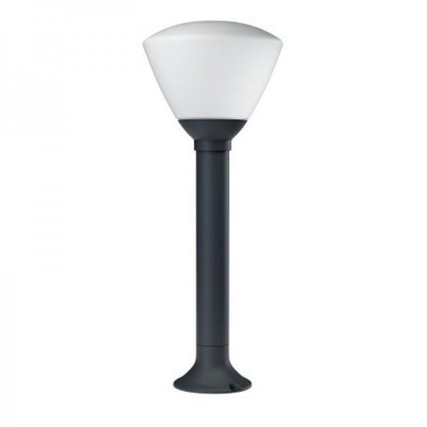 Osram LED Bodenleuchte Endura Style Lantern Bowl 55cm 7W/830 400lm warmweiß nicht dimmbar dunkelgrau IP44