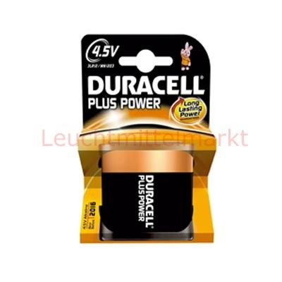 Duracell Batterien Plus Power DP4,5V 4,5V 1er Blister