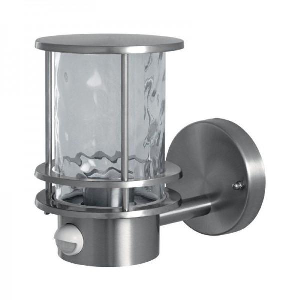 Osram LED Wandleuchte Endura Classic Post Up Sensor max 60W nicht dimmbar steel IP44
