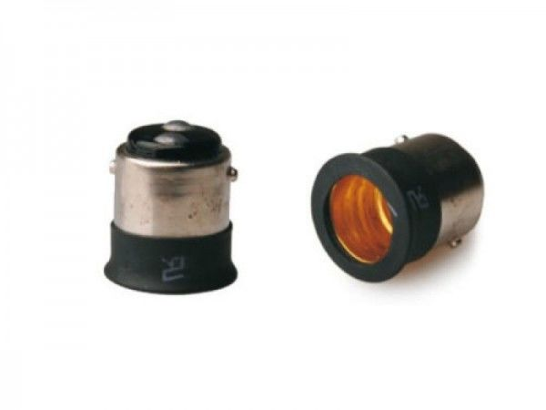 I-Light Adapter von BA15D zu E12
