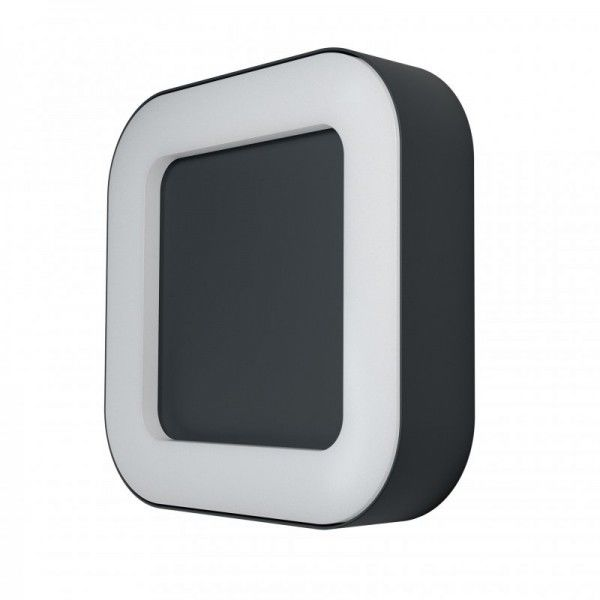 Osram LED Wandleuchte Endura Style Square 13W/830 480lm warmweiß nicht dimmbar dunkelgrau IP44