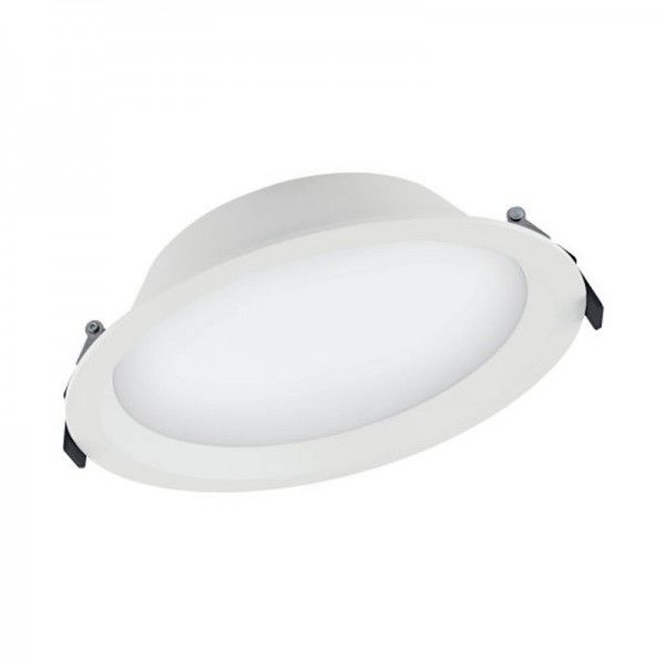LEDvance LED Downlight Alu D200 Dali 35W/865 3150lm weiß IP44 tageslichtweiß dimmbar 100°