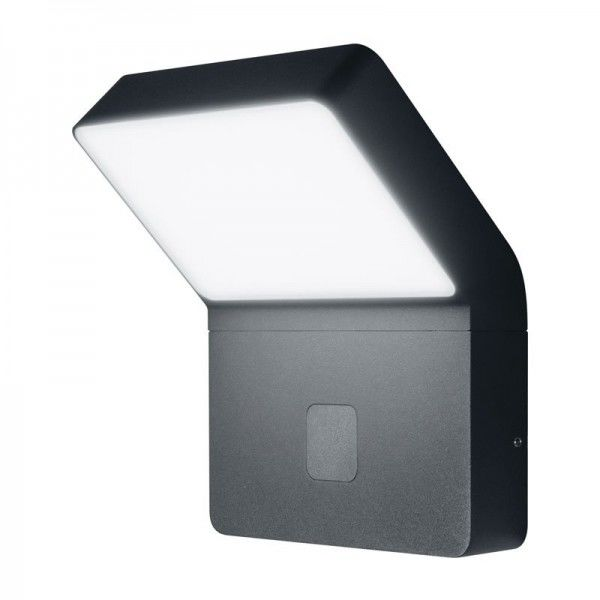 Osram LED Wandleuchte Endura Style Wide Sensor 11,5W/830 750lm warmweiß nicht dimmbar dunkelgrau IP44