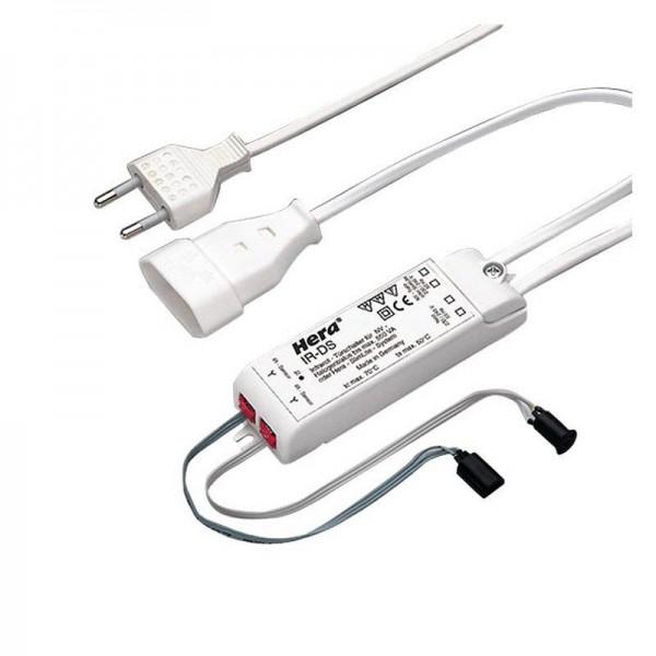 Hera IR-DS2-Schalter mit 2 Sensoren K 60 Eurostecker 3m 50612090201