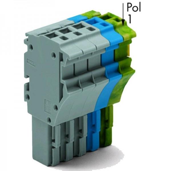 Wago 1-Leiter-Federleiste 2022-105/000-038 (1 Stück)