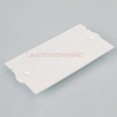 Abdeckplatte für Einspeisung weiß