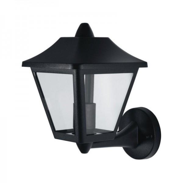 Osram LED Wandleuchte Endura Classic Tradition Up Alu max 60W nicht dimmbar schwarz IP44