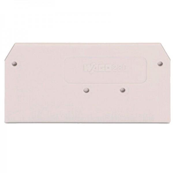 WagoAbschluss- und Zwischenplatte 280-356 (1 Stück)