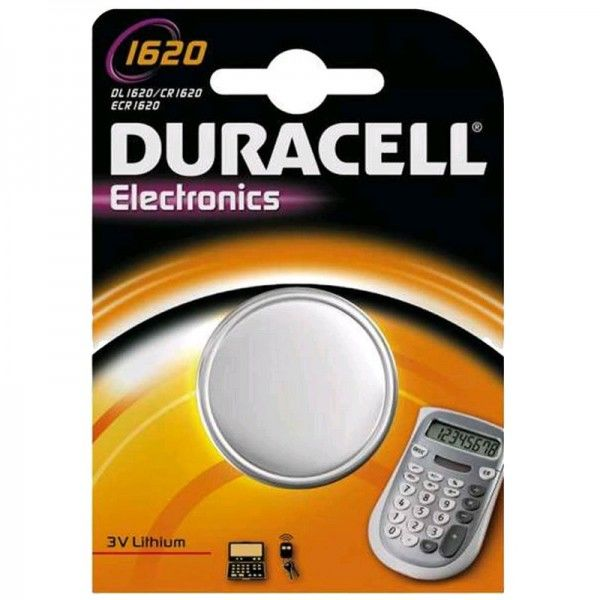 Duracell Knopfzelle Electronics 1620 B1 1er Blister